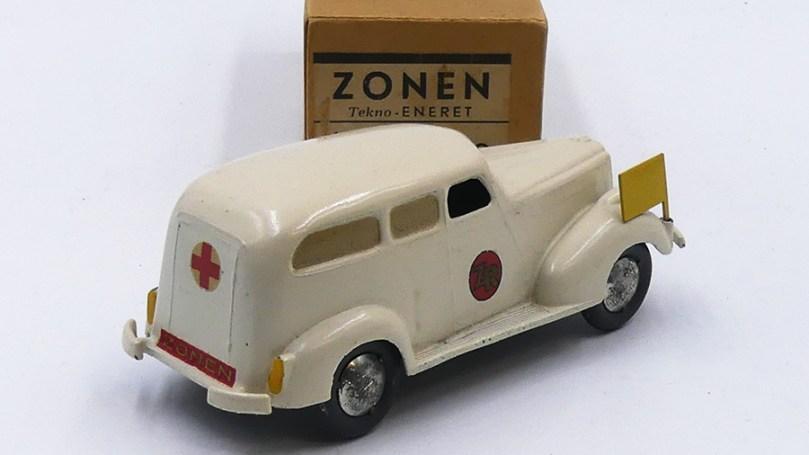 Tekno Packard ambulance variantes de jantes ( en tôle)