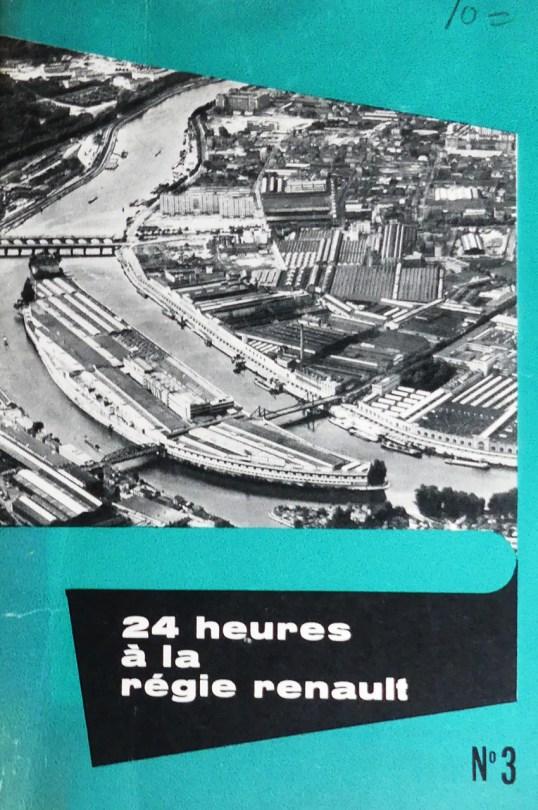 24 heures à la régie Renault