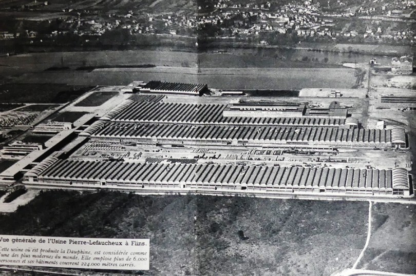 L'usine Pierre Lefaucheux Renault de Flins