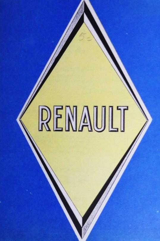 une autre publication de chez Renault