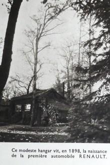 Le hangar de 1898 où tout a commencé