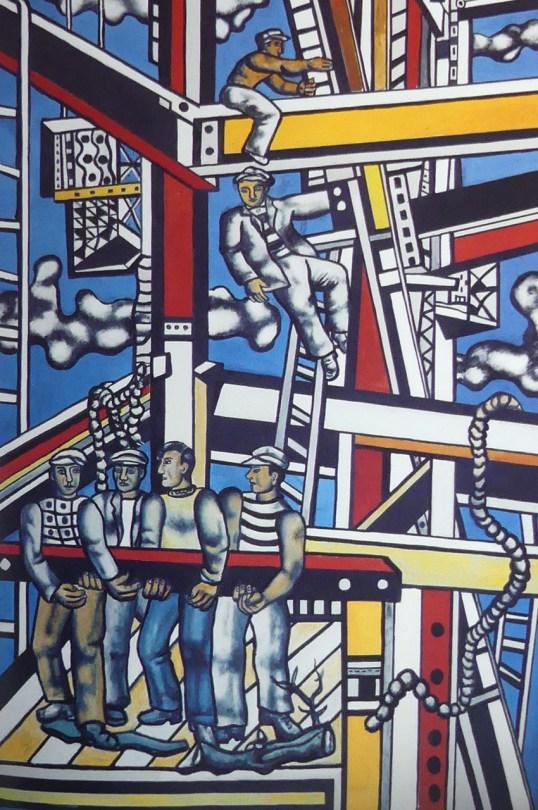 """Fernand Léger. """"Les constructeurs, définitif"""""""