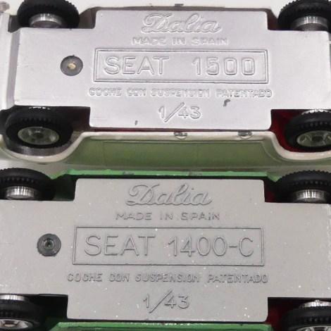 Dalia Seat 1400 C et 1500