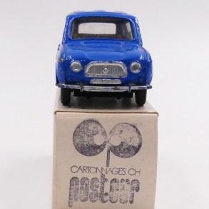 Dinky Toys Renault 4L bleue provenant de chez monsieur Badaroux