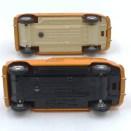 Dinky Toys Renault 4L autoroutes les 2 variantes d'intérieur et de chassis