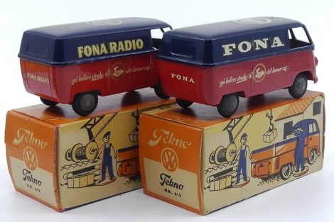 "Tekno Volkswagen Kombi ""Fona"" et ""Fona Radio""...le plus rare? ....le Fona !"