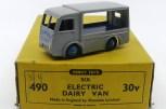 Dinky Toys Walker fourgon électrique Express Dairy (plateau bleu marine)