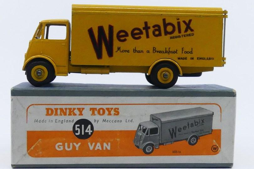 Dinky Toys Guy Otter fourgon Weetabix