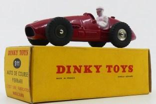 Dinky Toys Ferrari 500F2 jantes concave...militaire !