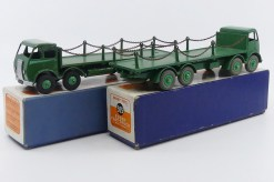 Dinky Toys Foden Mk 1 et Mk 2 plateau avec ranchers et chaînes