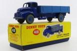 Dinky Toys Leyland Comet ridelles (jantes bleu)