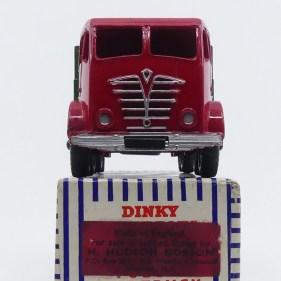 Dinky Toys Foden Mk2 : very british ! avec étiquette de l'importateur US Hudson Dobson