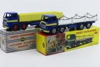 Dinky Toys Leyland Octopus plateau à chaînes et ridelles
