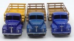 Dinky Toys Leyland Comet avec ridelles ajourées nuances de bleu