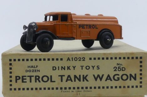 Dinky Toys 25 D camion citerne type 2 (chassis ouvert)