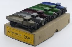 Dinky Toys 25A camions ridelles type 2 et 3