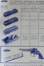 Bon de commande 1959 avec coffret des cars Chausson