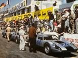 Porsche 904 doublé à la Targa Florio 1964 (Nr86 devant la Nr 84)