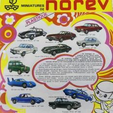 Norev : 68 est passé par là ! Le catalogue Norev: encerclés par les forces de l'ordre !