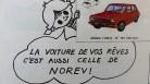 Publicité Norev: et en plus cela rime !