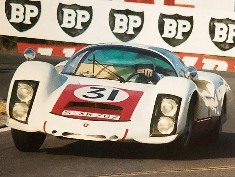 Porsche Carrera 6 longue au Mans 1966