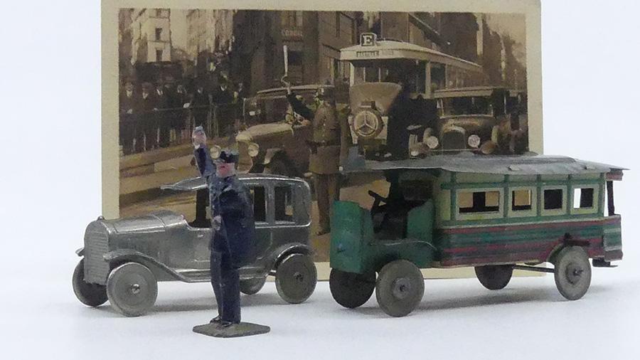 SR taxi et CR De Dion autobus parisien
