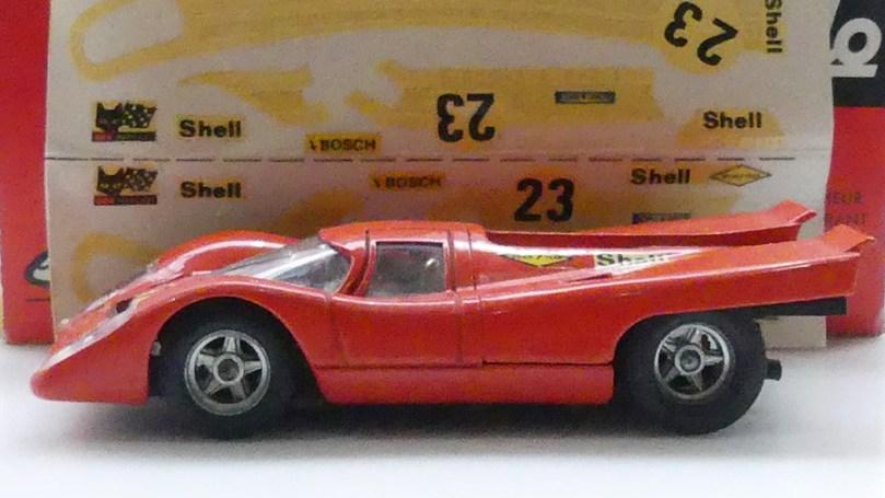 Solido Porsche 917 Salzburg avec sa planche de décoration à appliquer