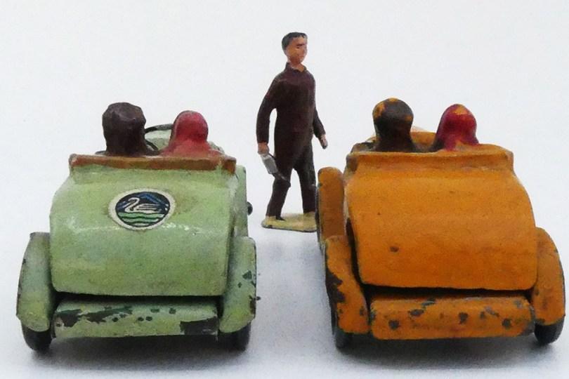 """""""Les jouets Citroën"""" Citroën C4 torpédo et Rosalie torpédo"""