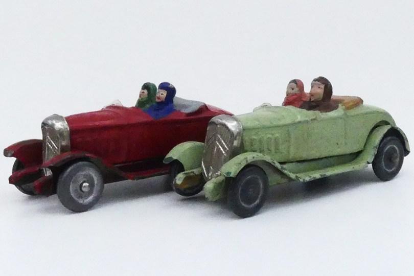"""""""Les jouets Citroën"""" Citroën Rosalie torpédo"""