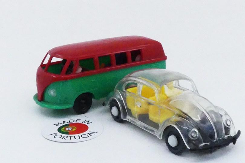 Riberino (Portugal) Volkswagen minibus et berline