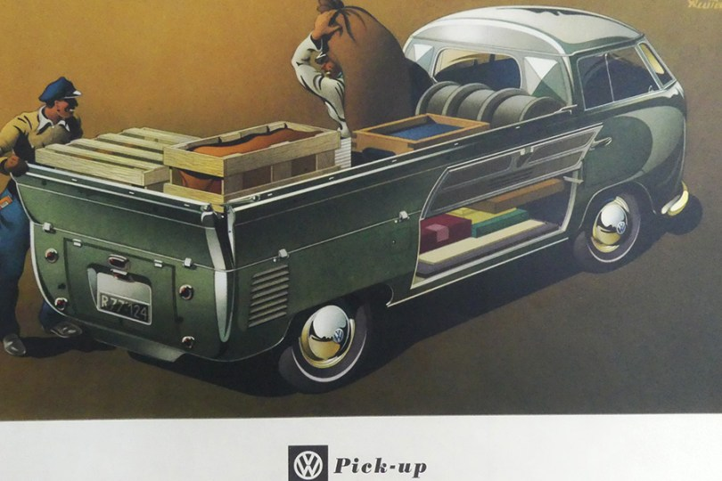 catalogue publicitaire Volkswagen pick up