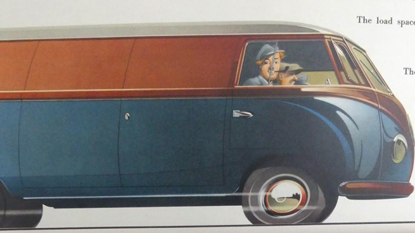 catalogue publicitaire Volkswagen : finition tricolore