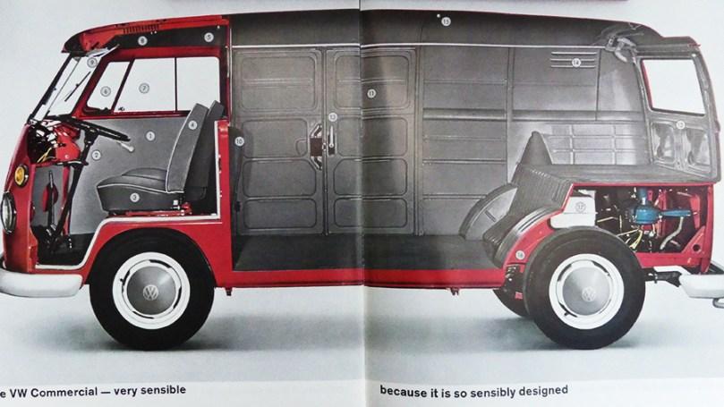 catalogue publicitaire Volkswagen : le volume disponible
