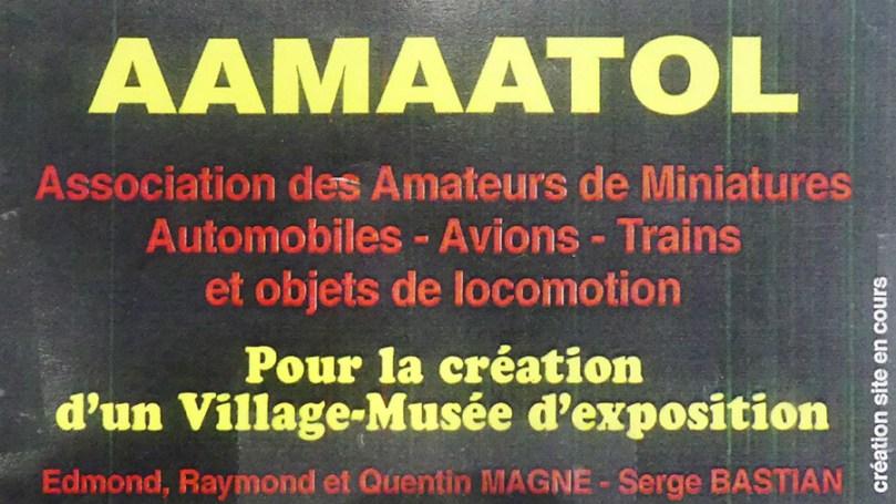 AAMAATOL association pour la création d'un vilalge-musée par Edmond