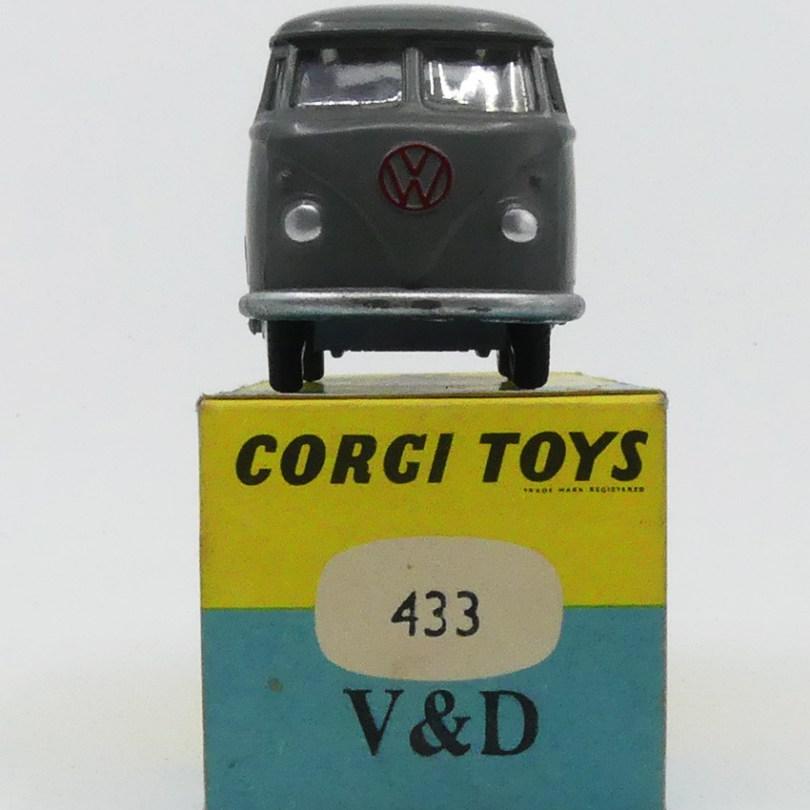 Corgi Toys (Grande Bretagne) VW Kasten Vroom Dreesman marché hollandais