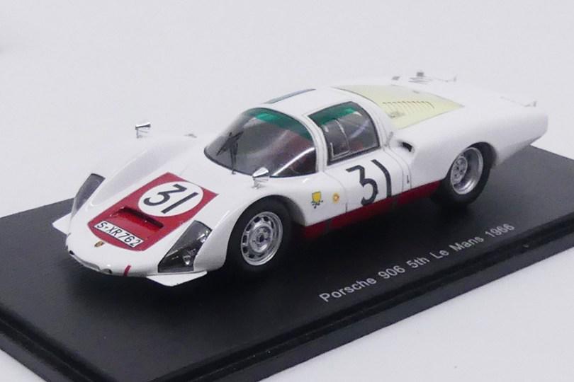 Spark Porsche 906 L Nr 31 Le Mans 1966 : quel réalisme !