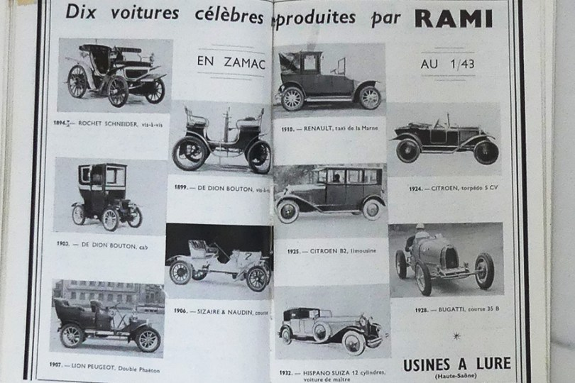 Rami publicité paru dans le catalogue du CIAM