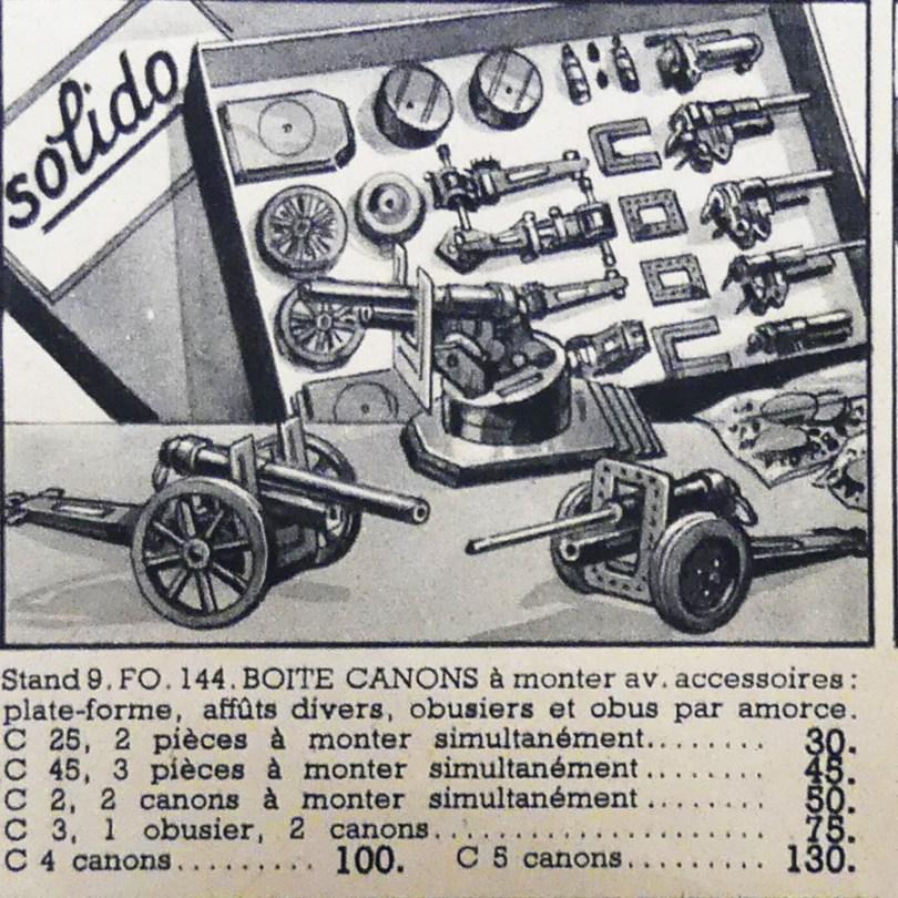 catalogue Bon Marché Noël Etrennes 1938 avec coffrets Solido