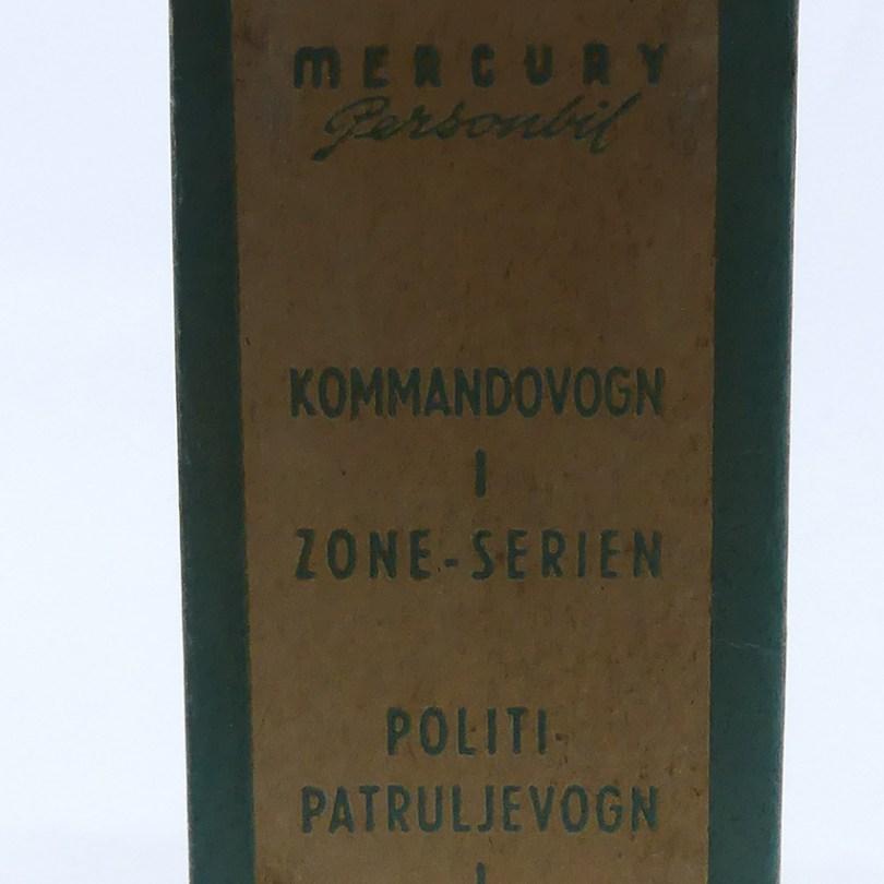 Tekno Mercury auto de police (politi-patruljevogn)