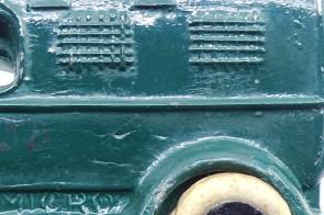 Micro détails de la grille symbolisant la privation de liberté