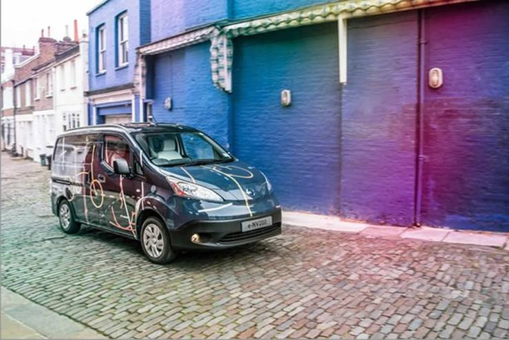 nissan electric mobile office