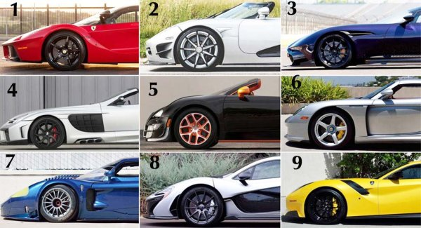Free Airtime For You If You Can Name All These Sport Cars Photo - Cars car names