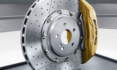 brake disc and calipers