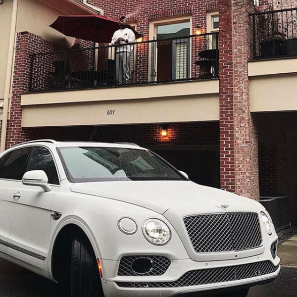 Image result for davido new bentley in front of his atlanta home