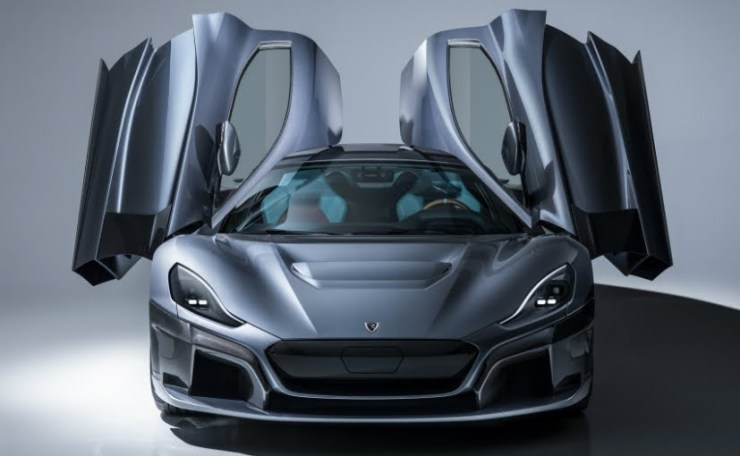 Rimac Unveil C_Two Selfdriving Electric Hypercar With 1914HP And Facial Recognition