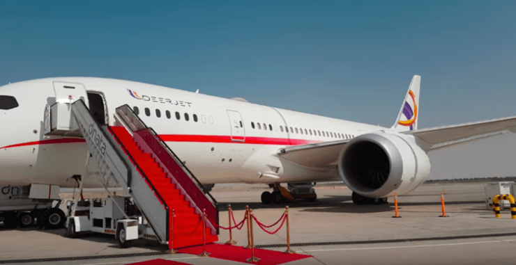 Inside The World's Only Private Boeing 787 Dreamliner