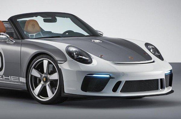 Porsche Celebrates 70th Anniversary With The Porsche 911 Speedster Concept