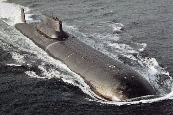 Meet The Russian Typhoon-Class Submarine,The Largest And Greatest Sub Ever Built