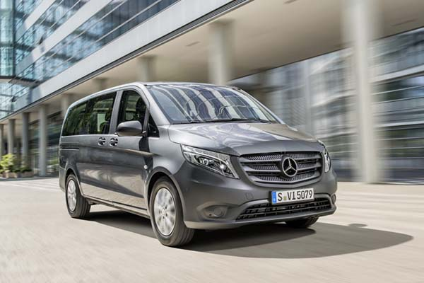 NEWSMercedes-Benz Vito Will Sit Up To 9 People In Style