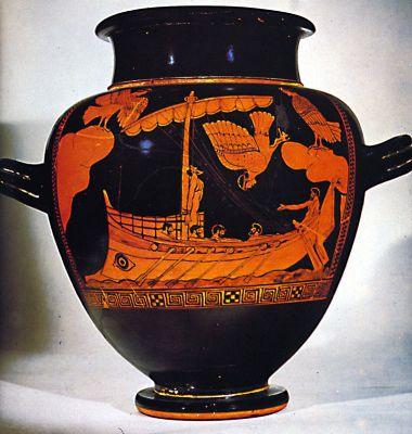 siren vase in british museum